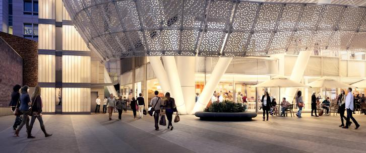 Rendering of Transbay Transit Center