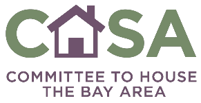 Logo for CASA Committee to House the Bay Area