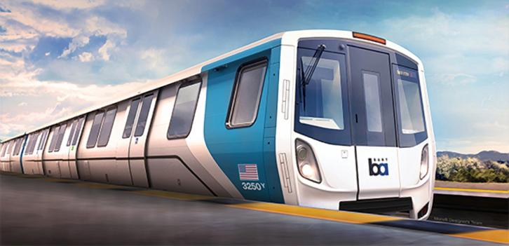 new BART car