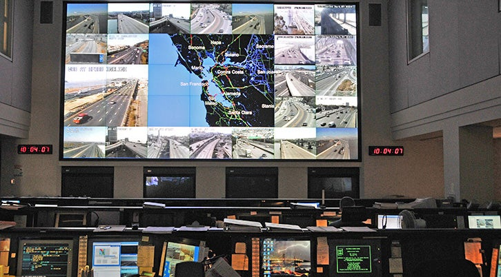 Traffic Management Center Screens