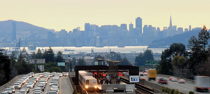 Transportation, Freeway, Bart, Bridge, San Francisco