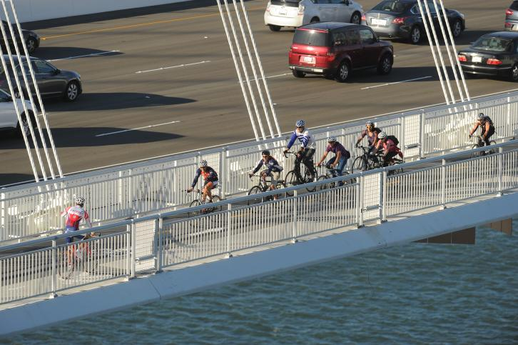 San Francisco-Oakland Bay Bridge bicycle/pedestrian path