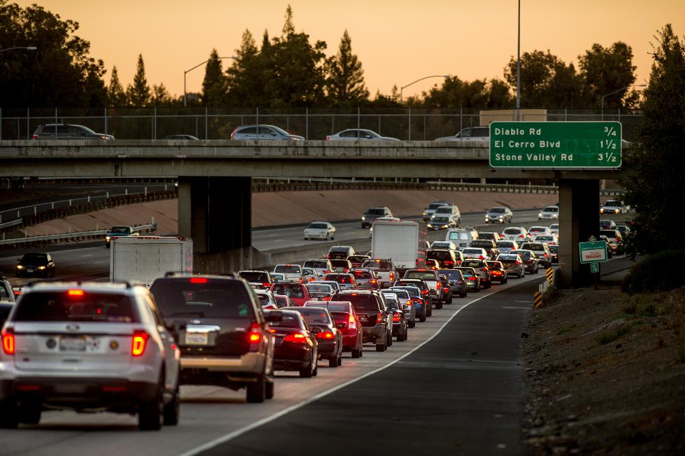 Freeway Congestion in Danville