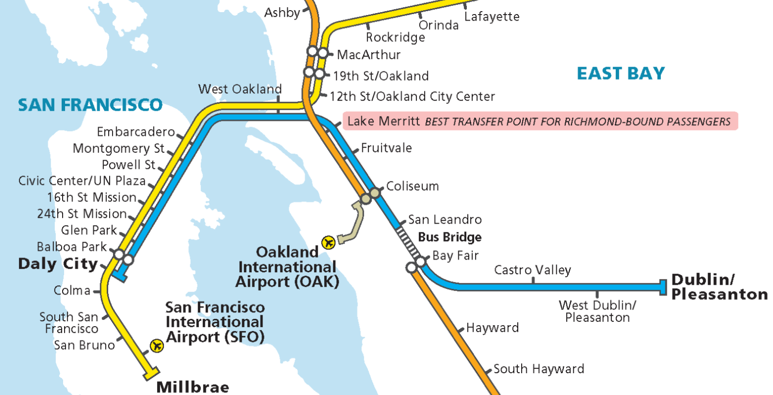 attention bart commuters: plan ahead for weekend bart track