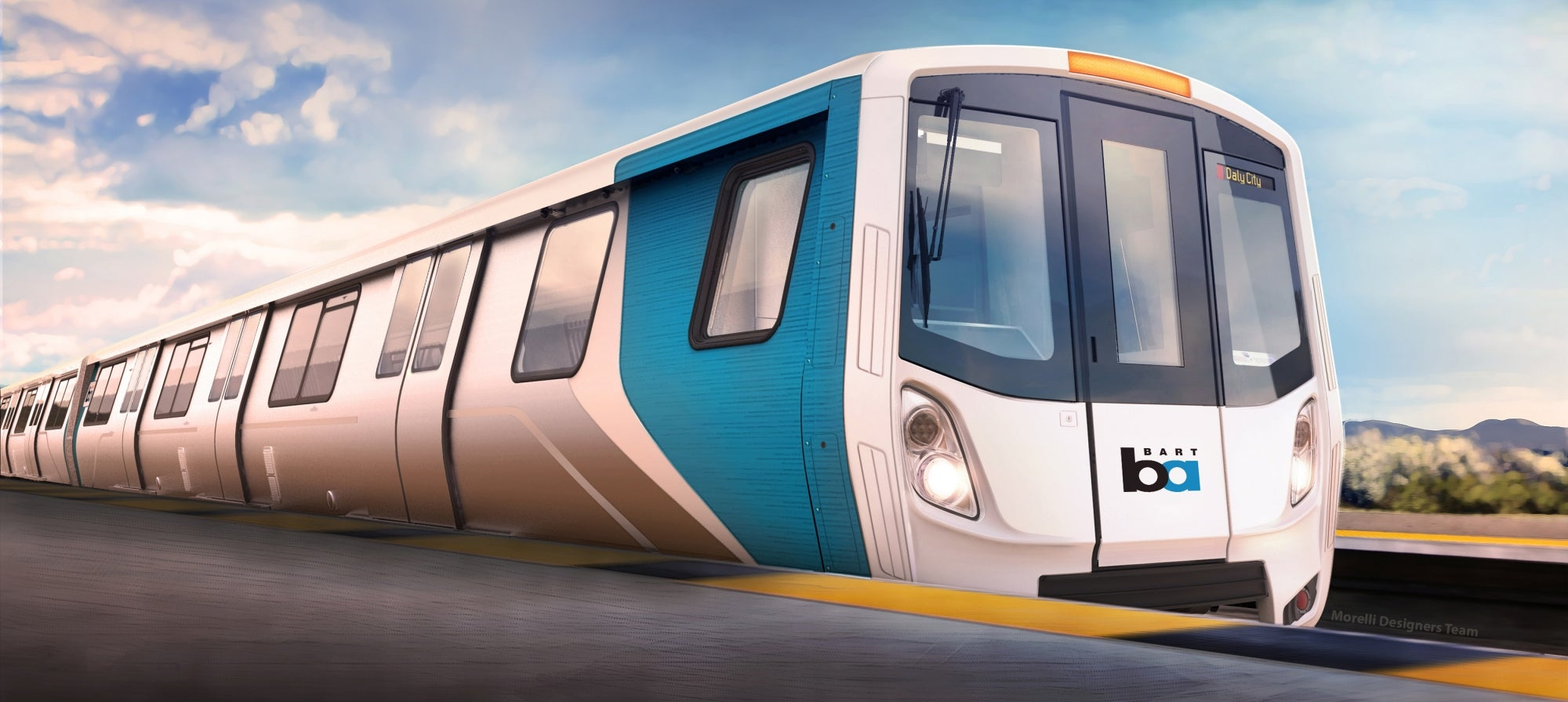 New BART Rail Car Rendering
