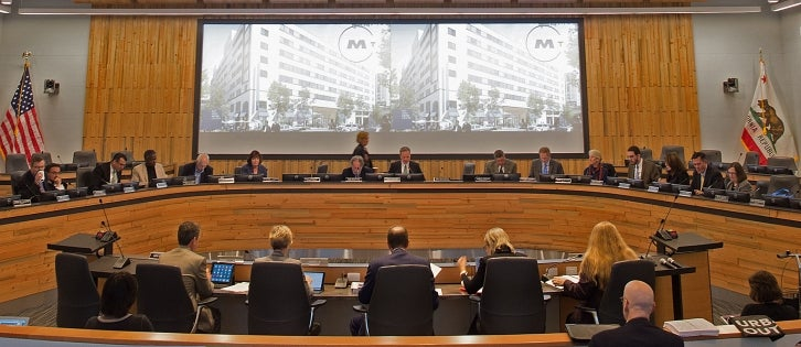 MTC Commission meets in the BAMC board room