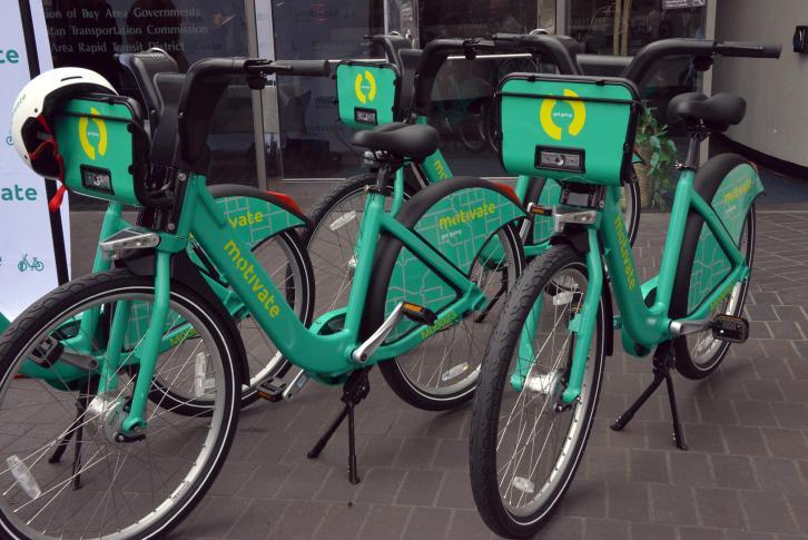 The new Bike Share bike