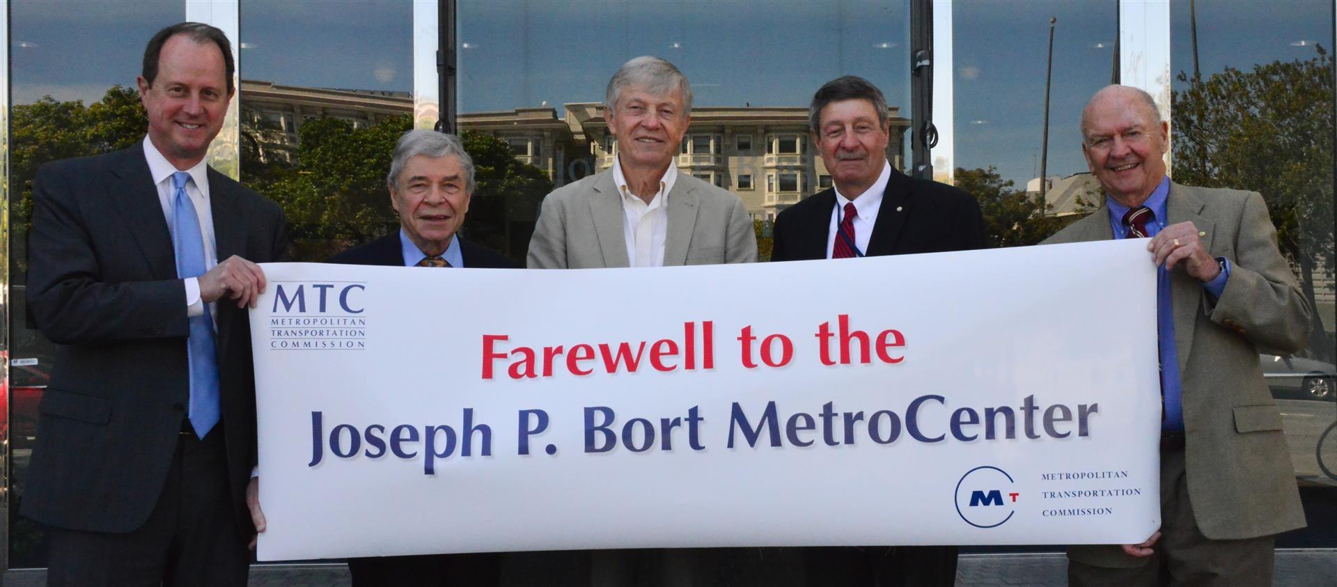 Farewell to the Joseph P. Bort MetroCenter