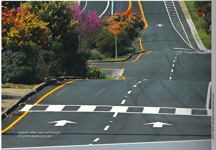 El Cerrito Roads