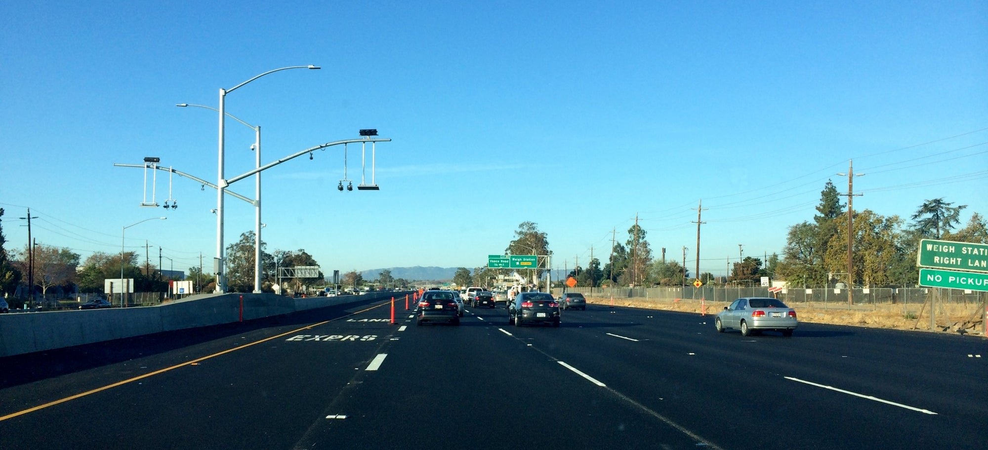 I-580 westbound express lane