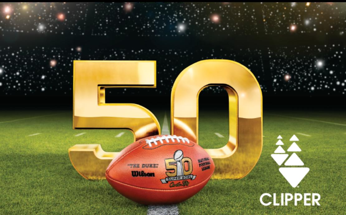 Super Bowl 50 Clipper Card
