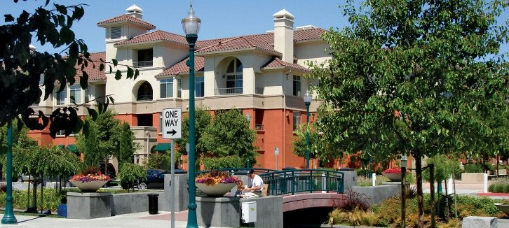 Rail Corridor Transit-Oriented Development area in San Mateo