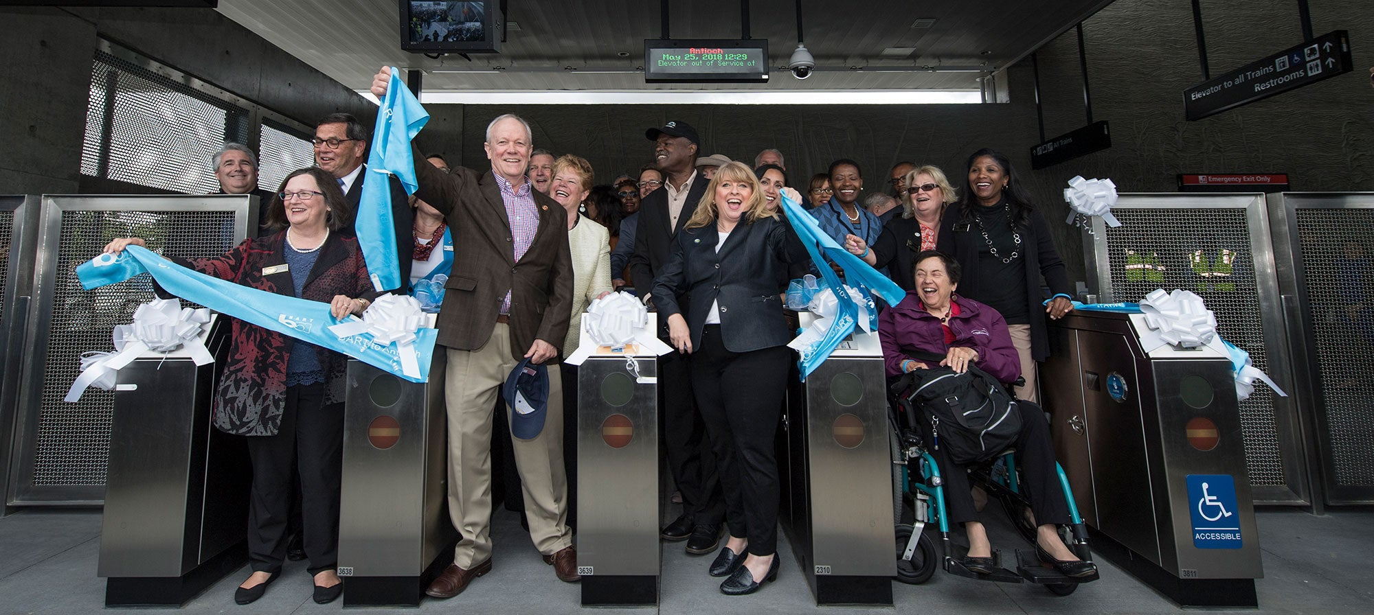 Opening of BART to Antioch Extension