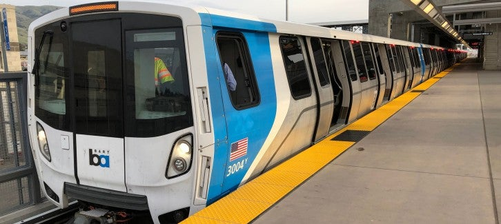 New BART cars