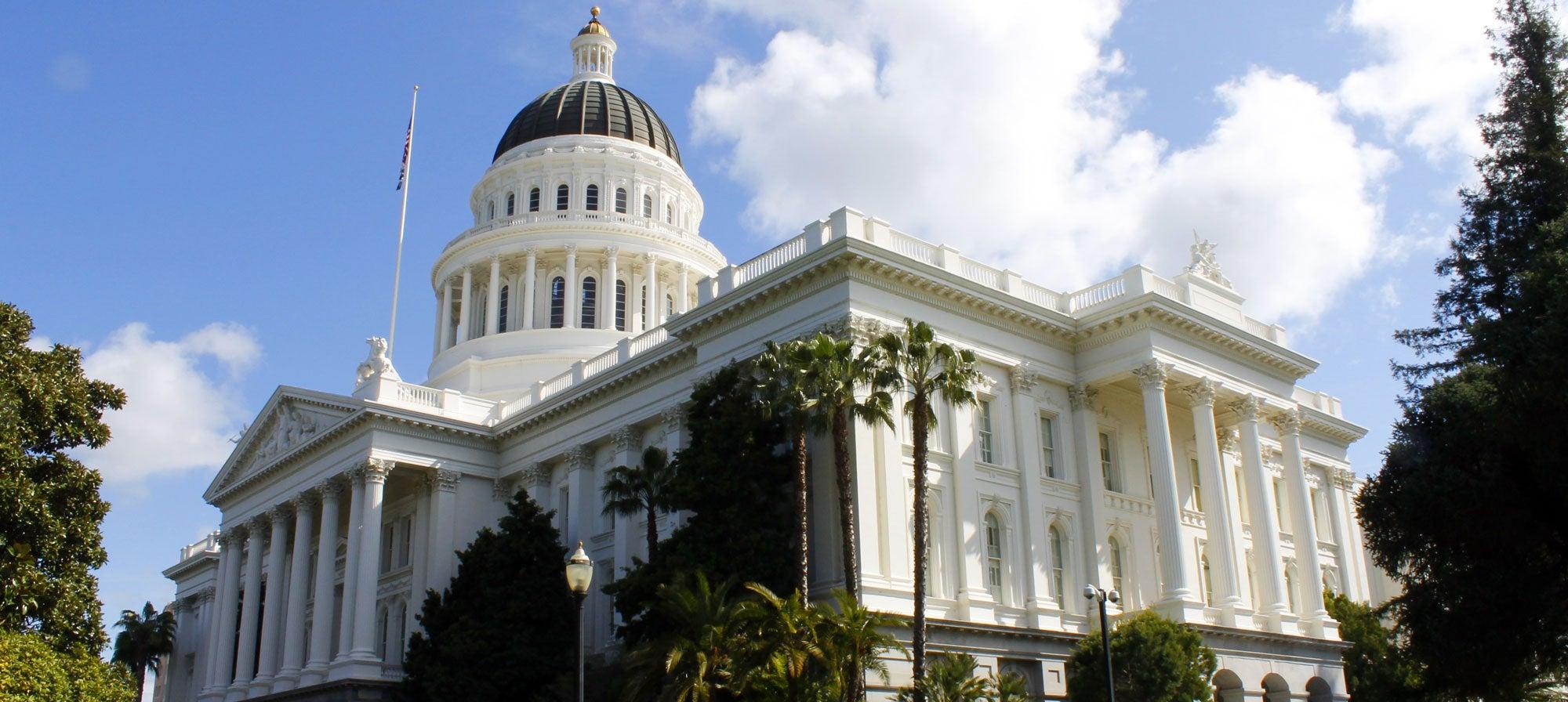 Sacramento California's Capitol building