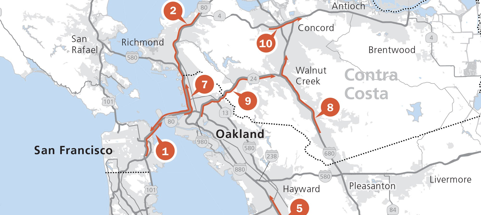 Bay Area Vital Signs: Freeway Congestion Hits New Record