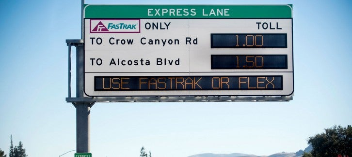 Express Lane - Fastrak Flex