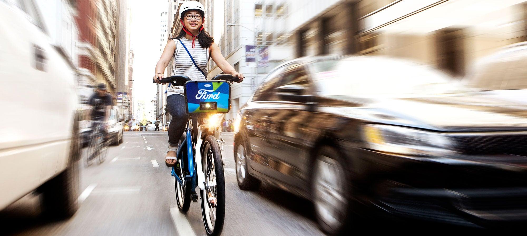 Ford GoBike rider