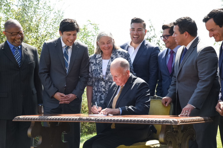 Governor Brown Signs Senate Bill 32