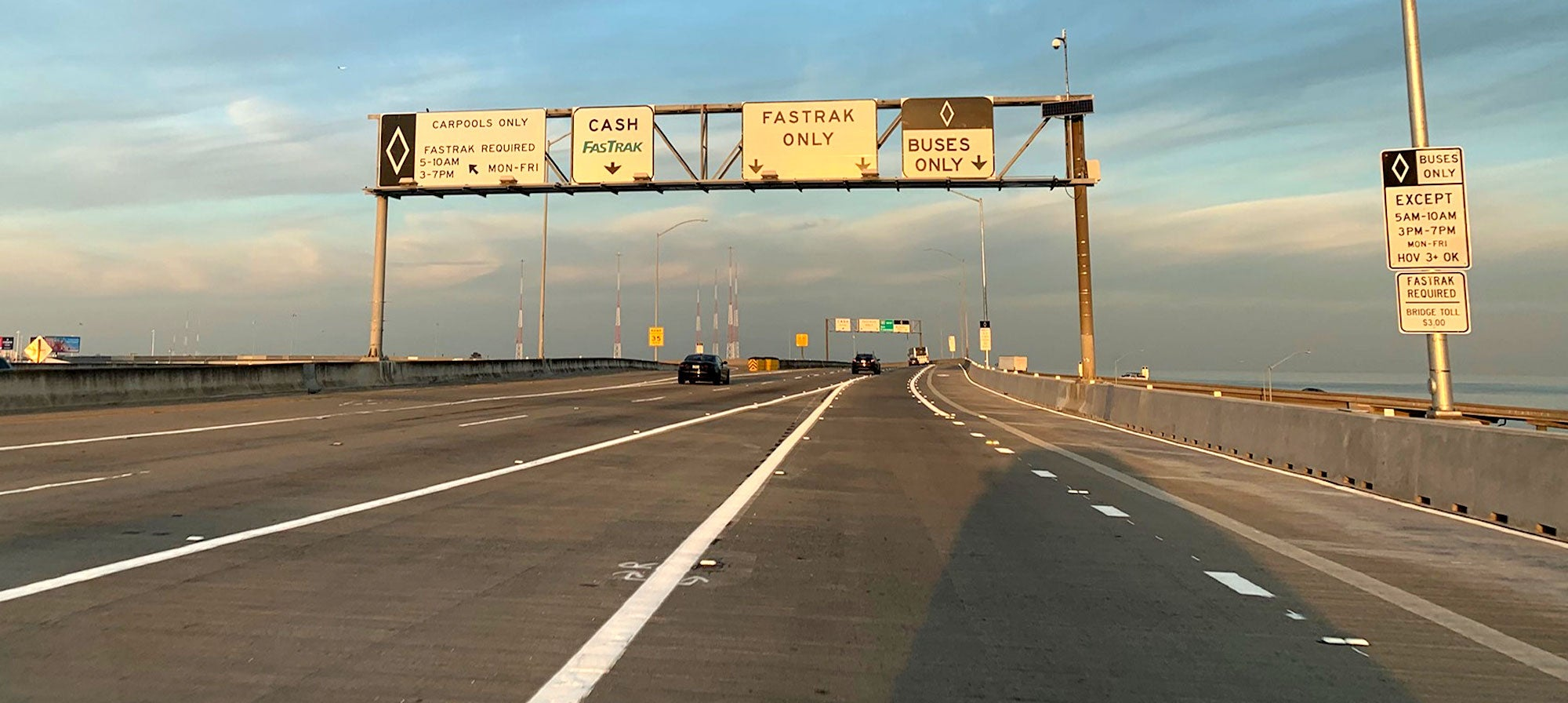 New Bus/Carpool Lane Opens On West Grand Avenue Approach to Bay Bridge