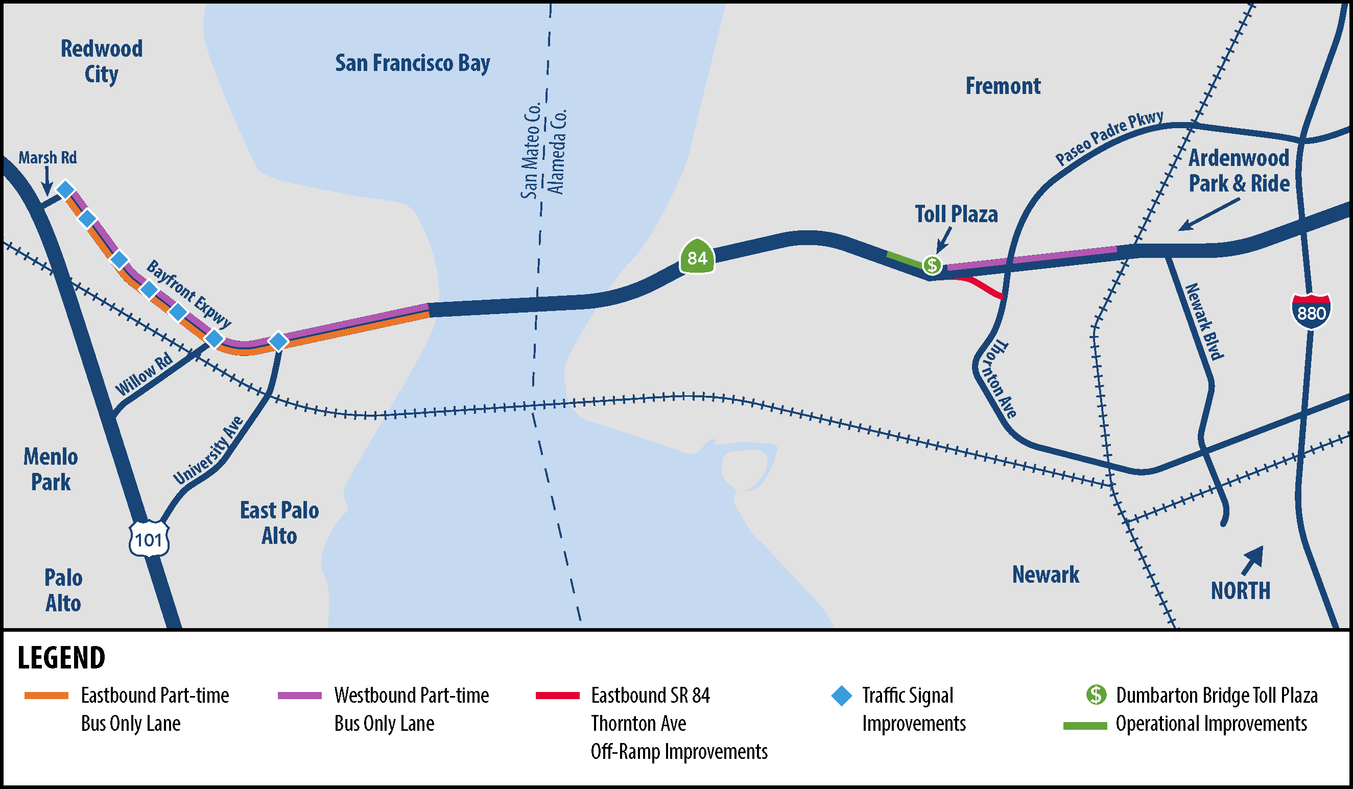 Dumbarton Forward Project Map