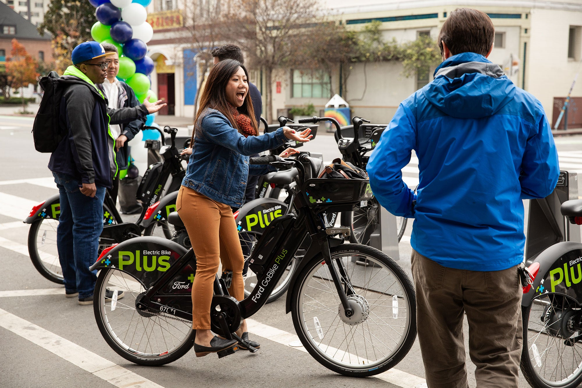 Ford GoBike East Bay Launch Event