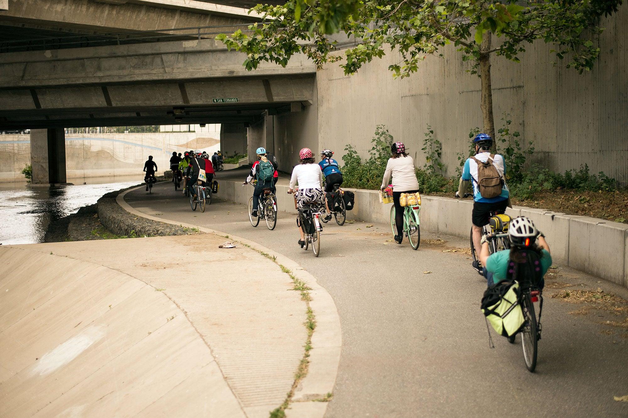 San Jose cyclists