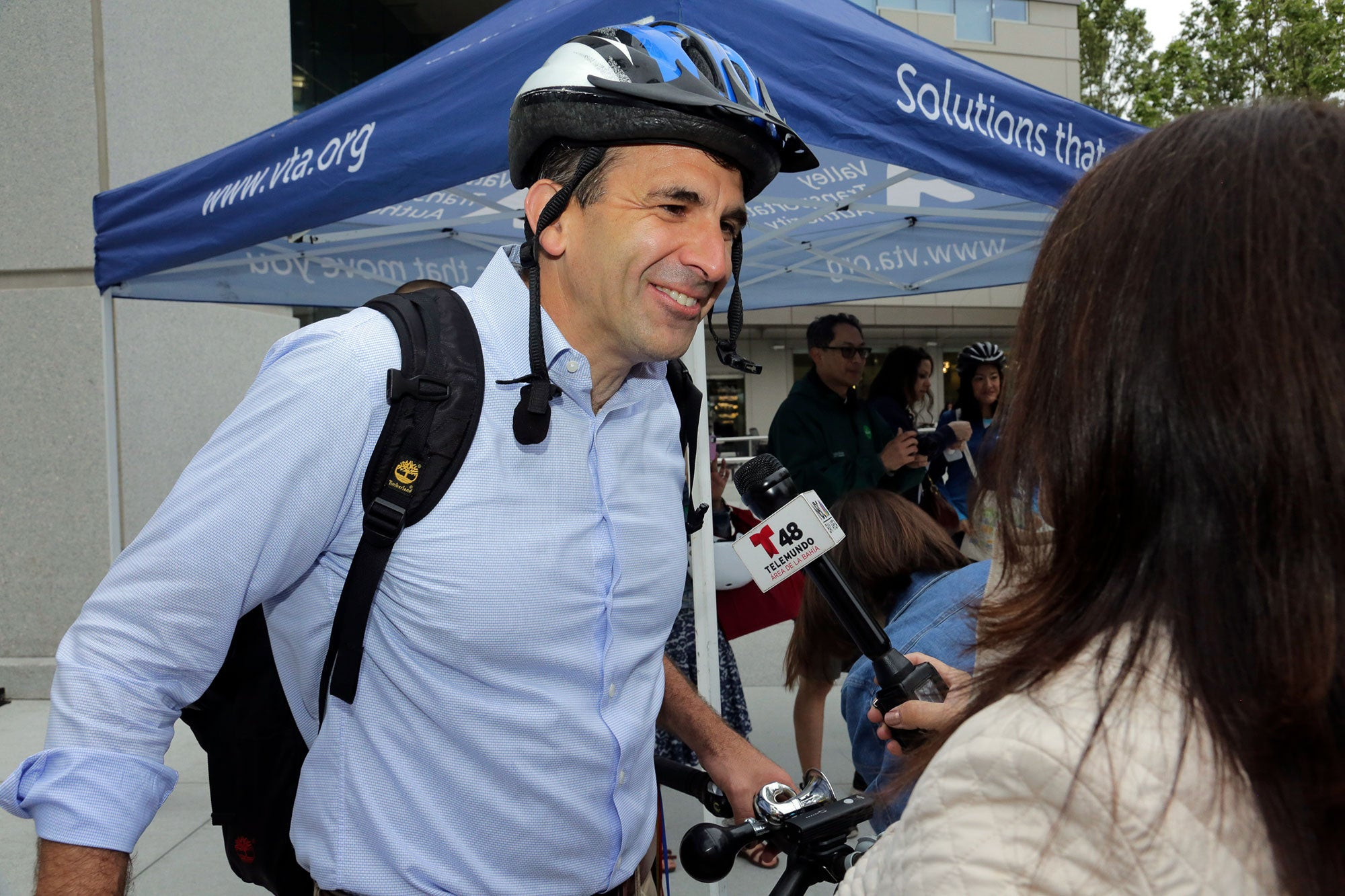 MTC Commissioner and San Jose Mayor Sam Liccardo