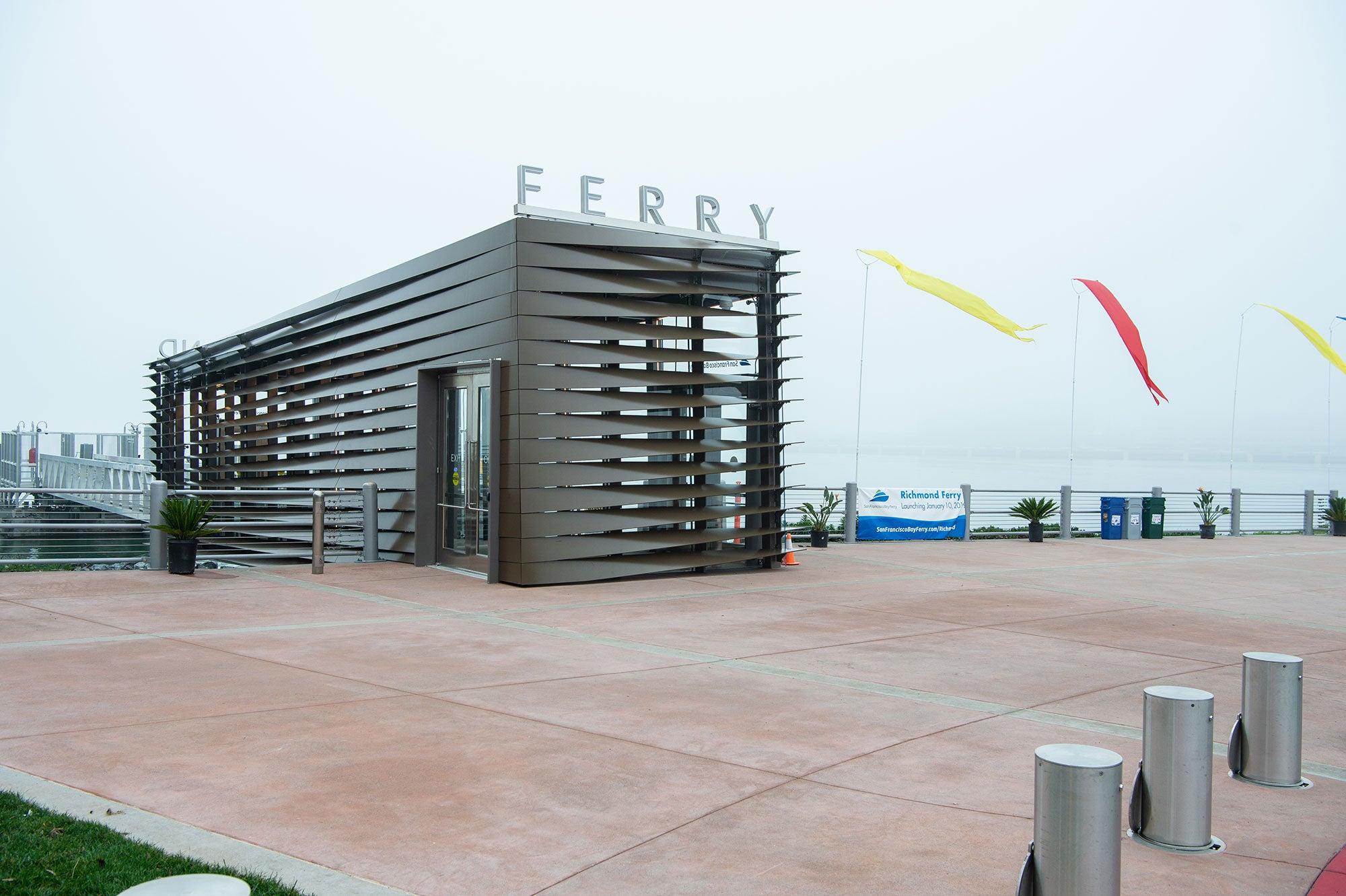 Richmond Ferry Terminal Opening