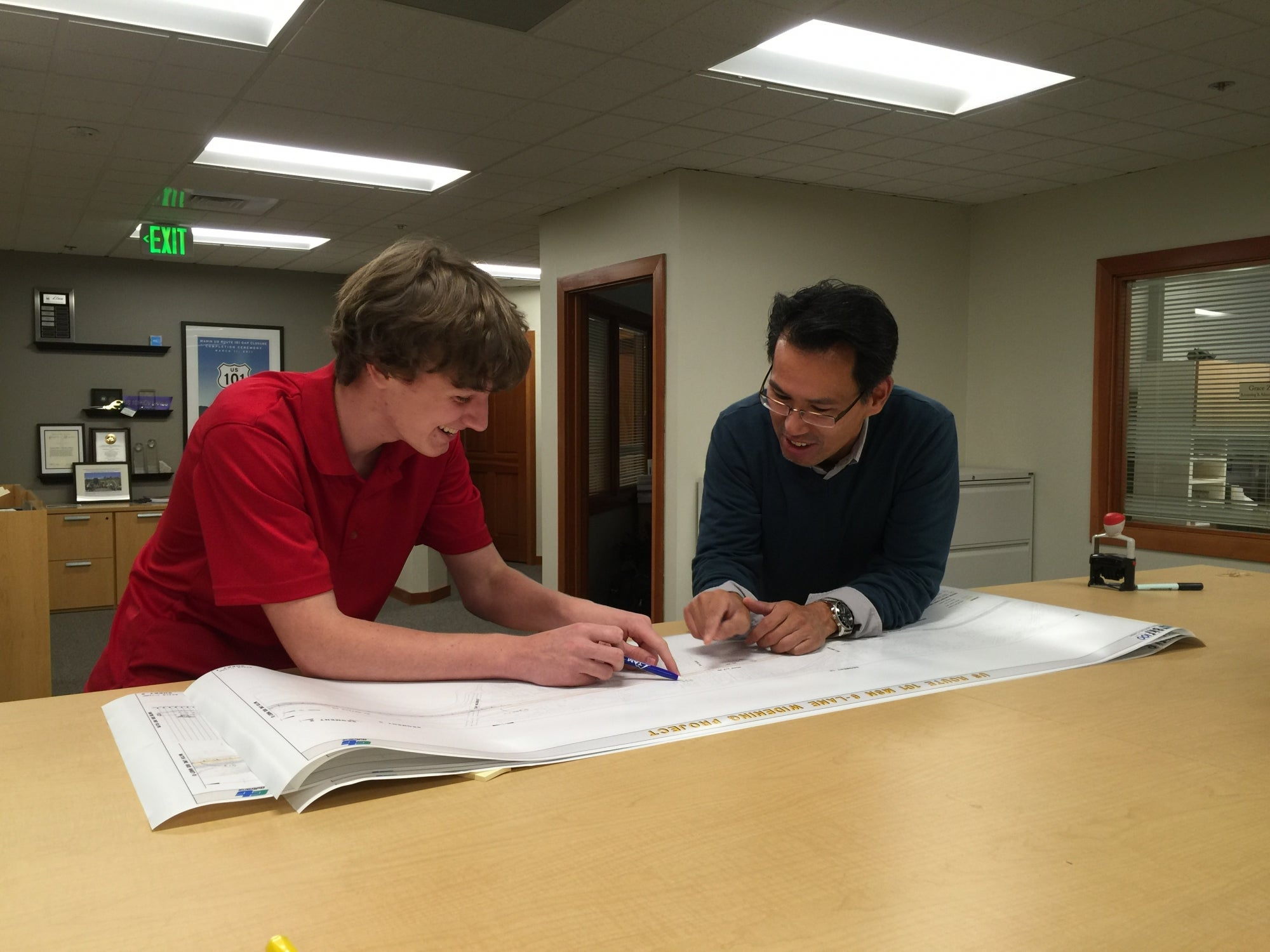 Ben Pearson, Intern for the Transportation Authority of Marin, Marin County