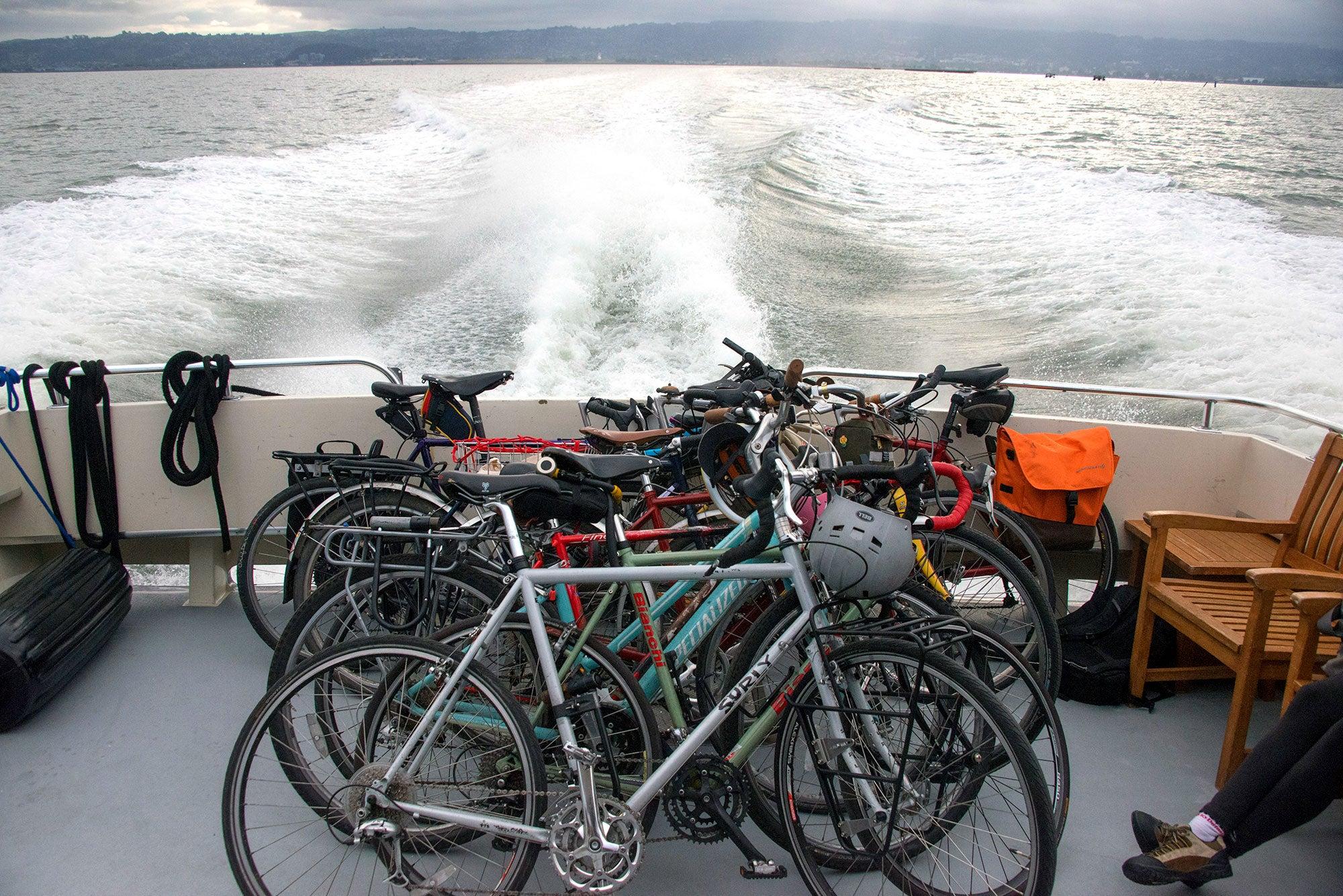 Aboard the Berkeley to San Francisco Tideline Ferry