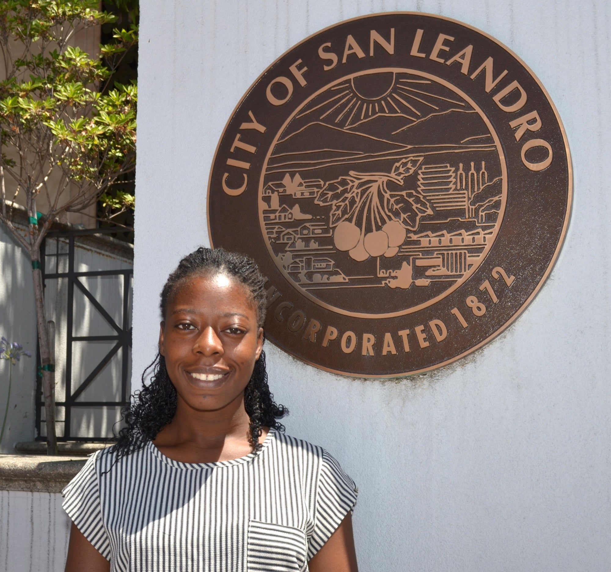 Flore Mountsambote, Intern for the City of San Leandro, Alameda County