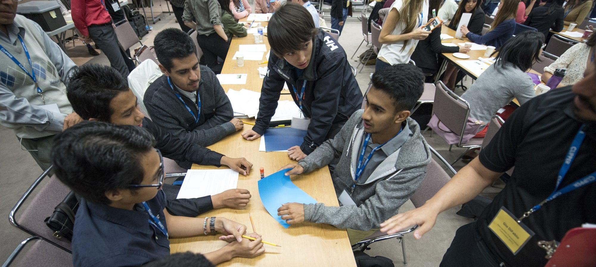 orientation for the 2015 high school intern program