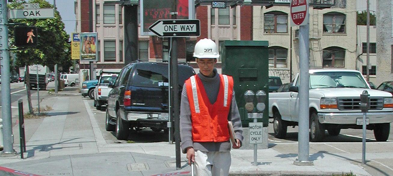 2002 intern on the job