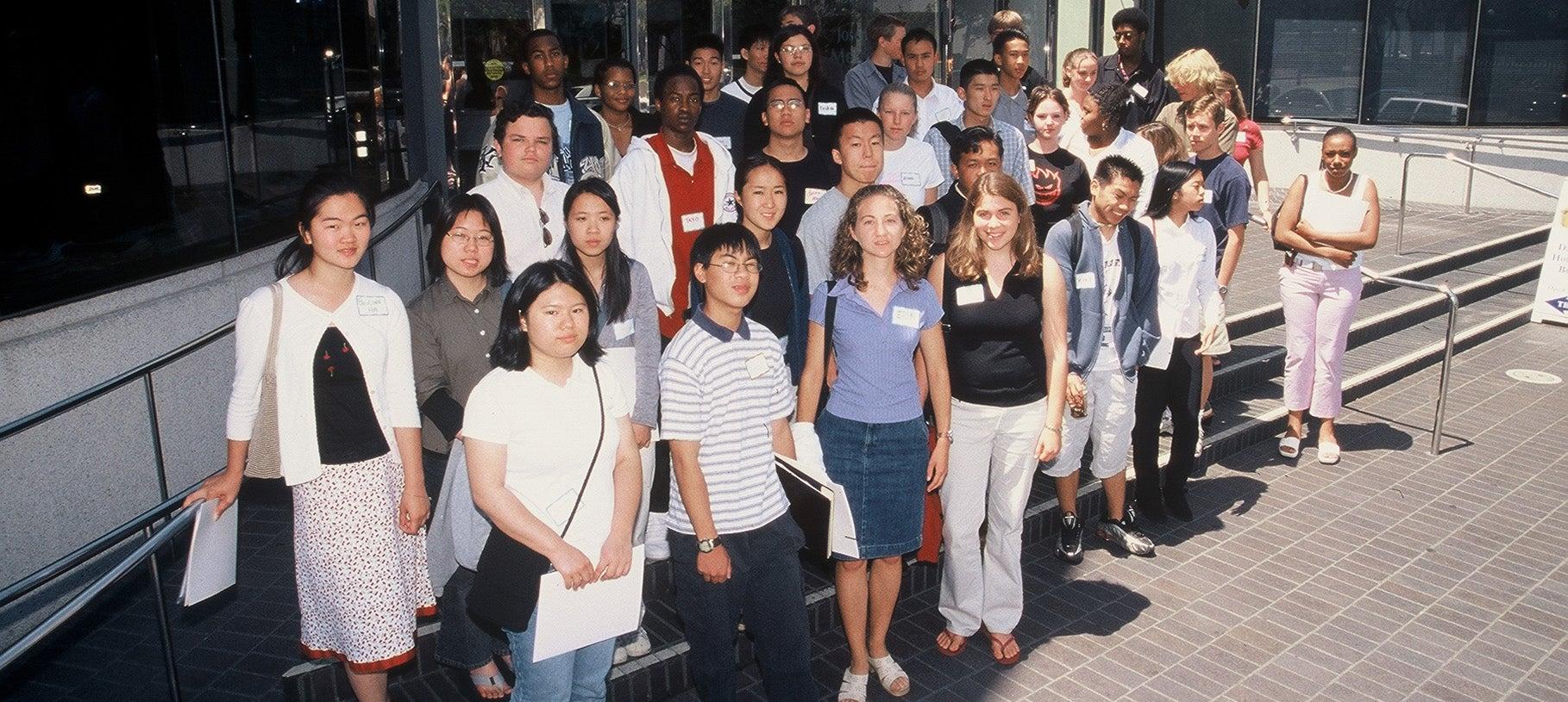 2003 summer interns