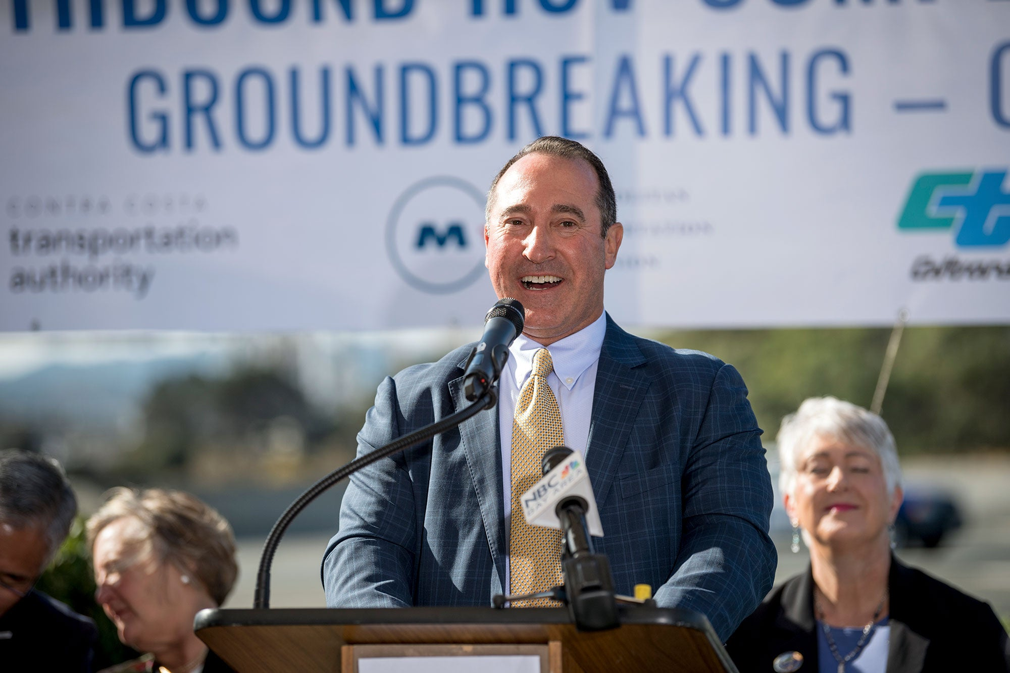Groundbreaking for I-680 Southbound Express Lanes