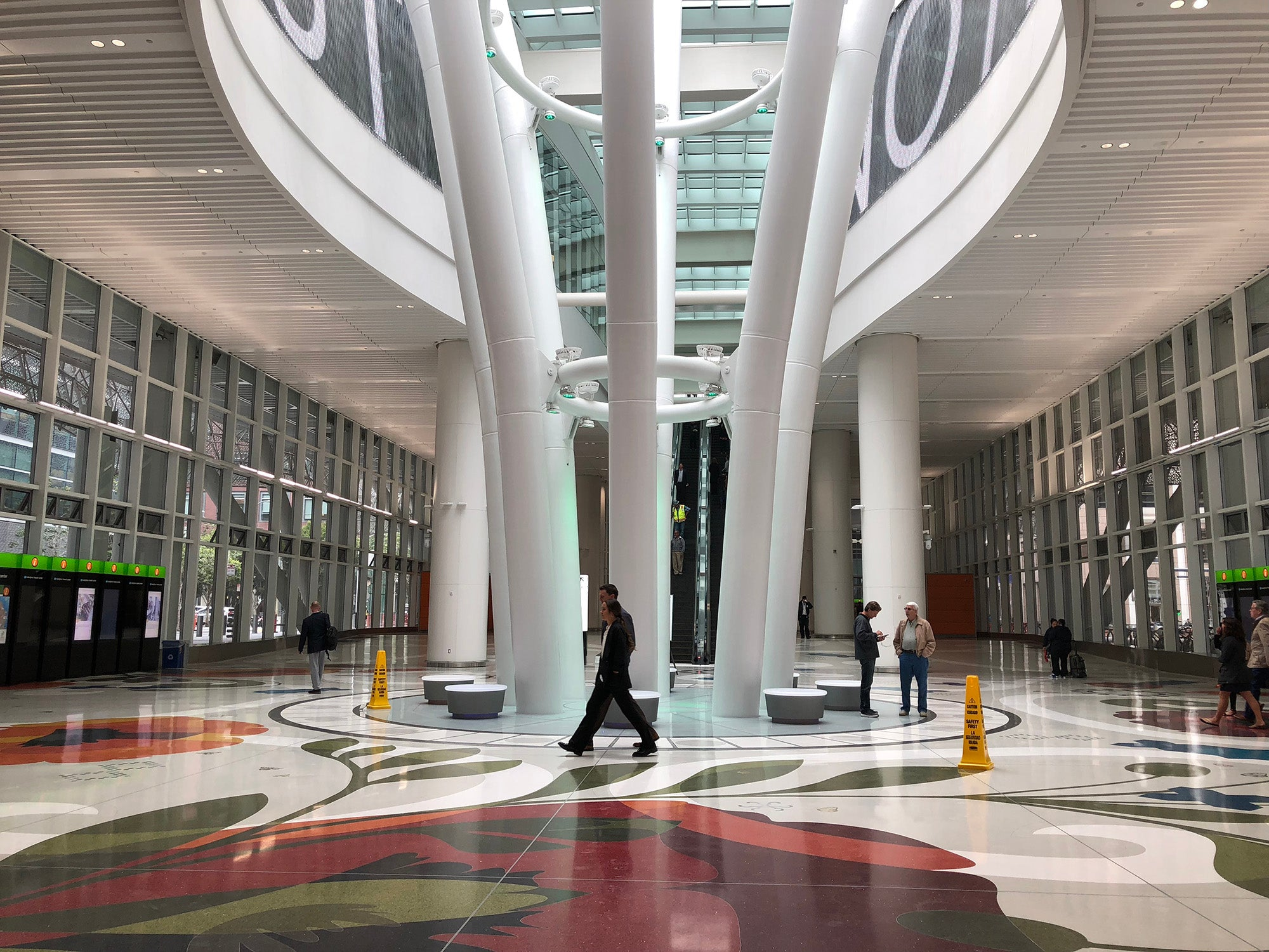 Photo of Salesforce Transit Center entryway