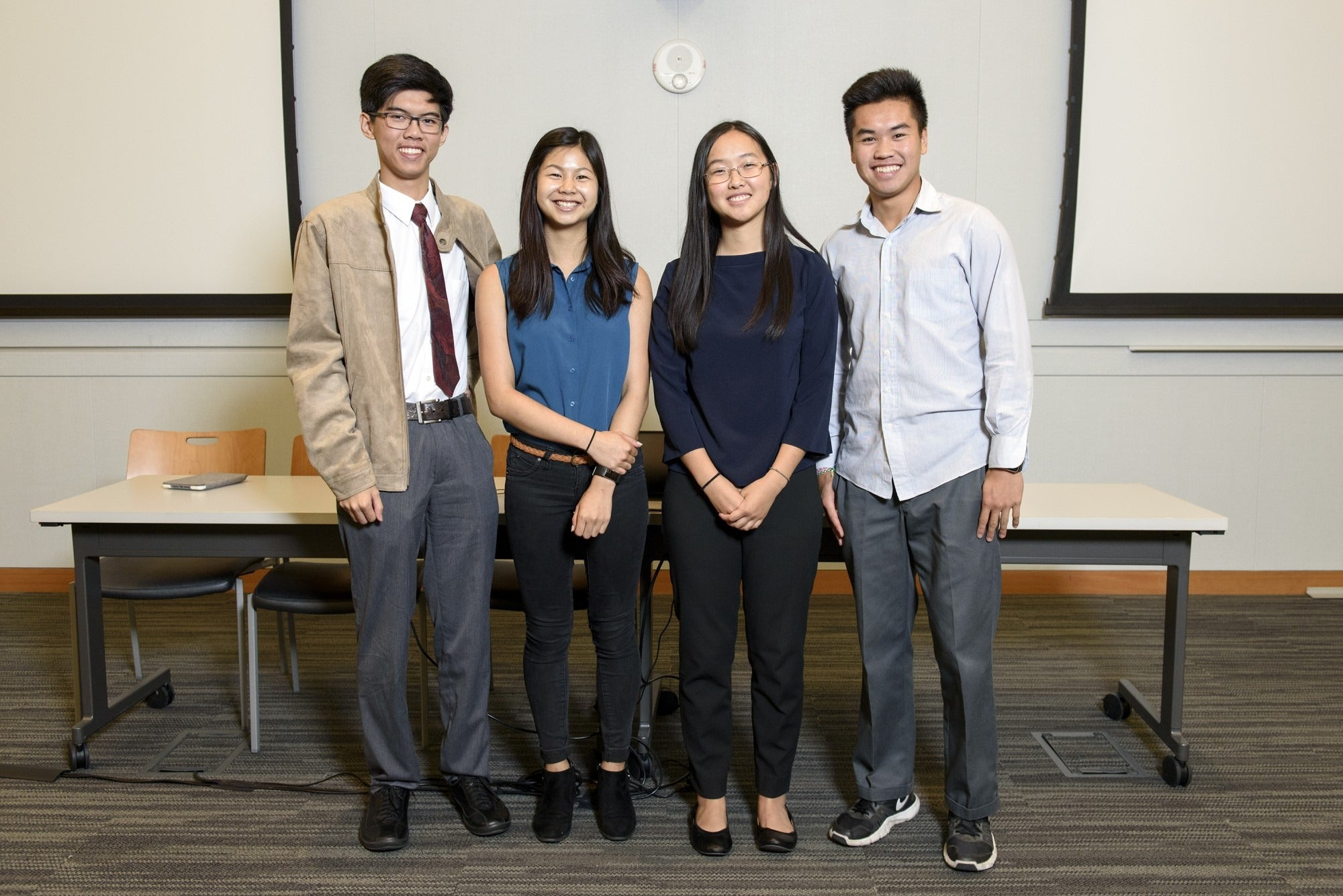 Interns from MTC's 2018 High School Internship