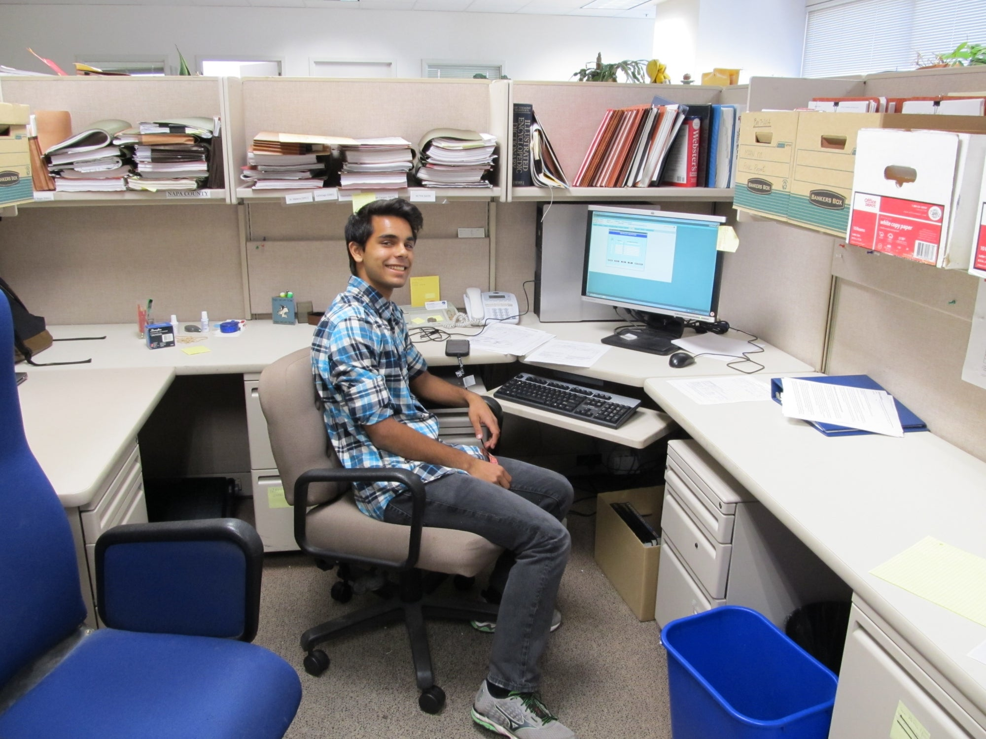 Prats Mathur, Intern for Caltrans, Alameda County