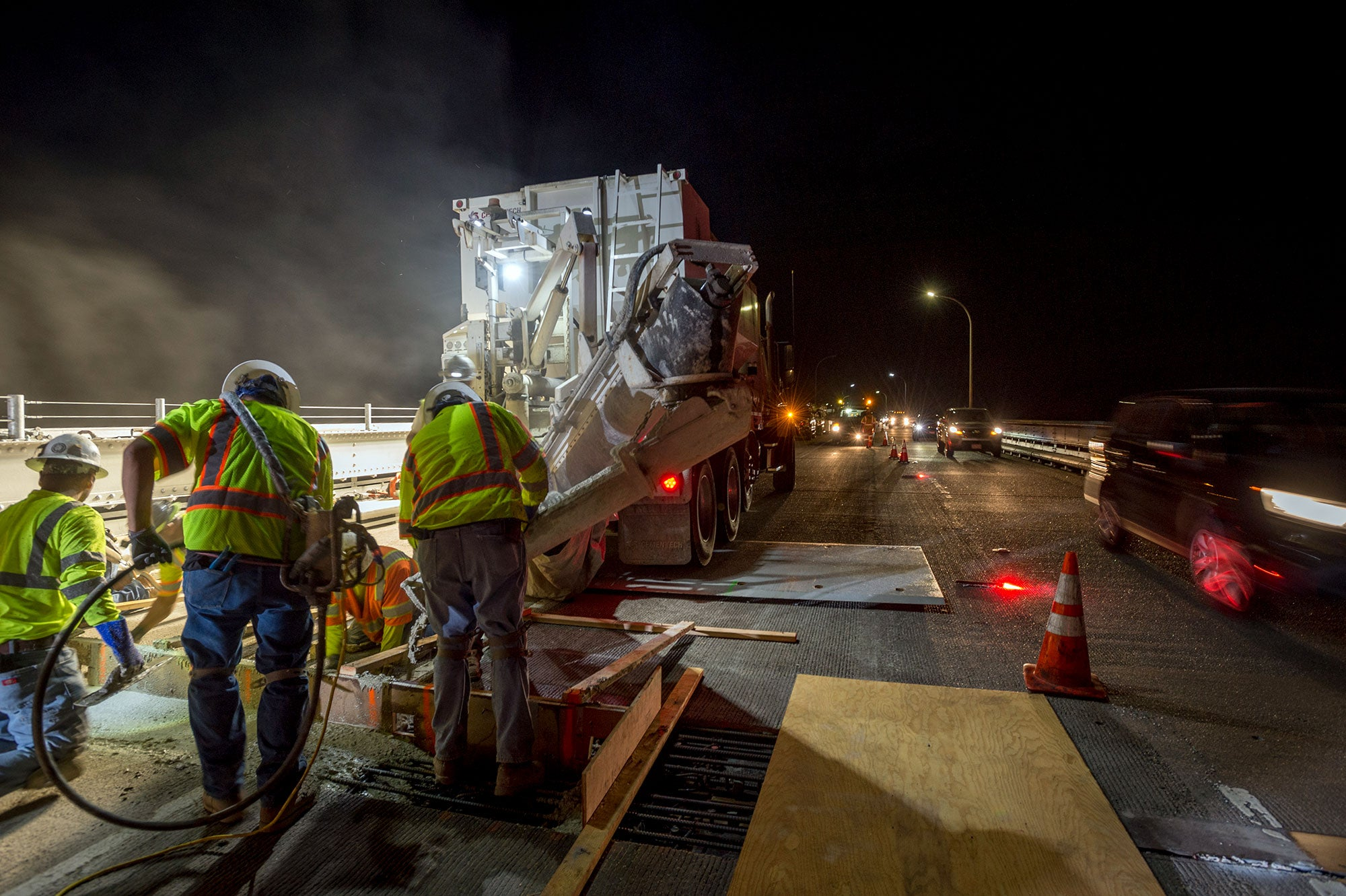 Richmond San Rafael Bridge Joint Repair