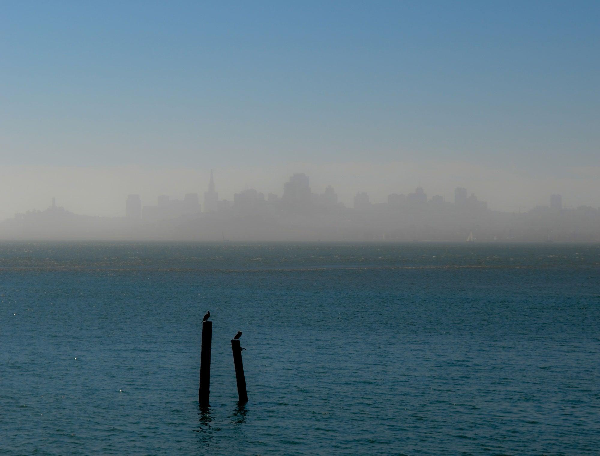 San Francisco from Fort Baker