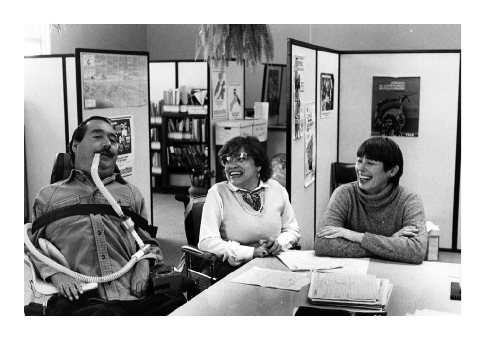 After two terms as part of the Jerry Brown administration, Ed and Judy Heumann and Joan Leon form the World Institute on Disability (WID).