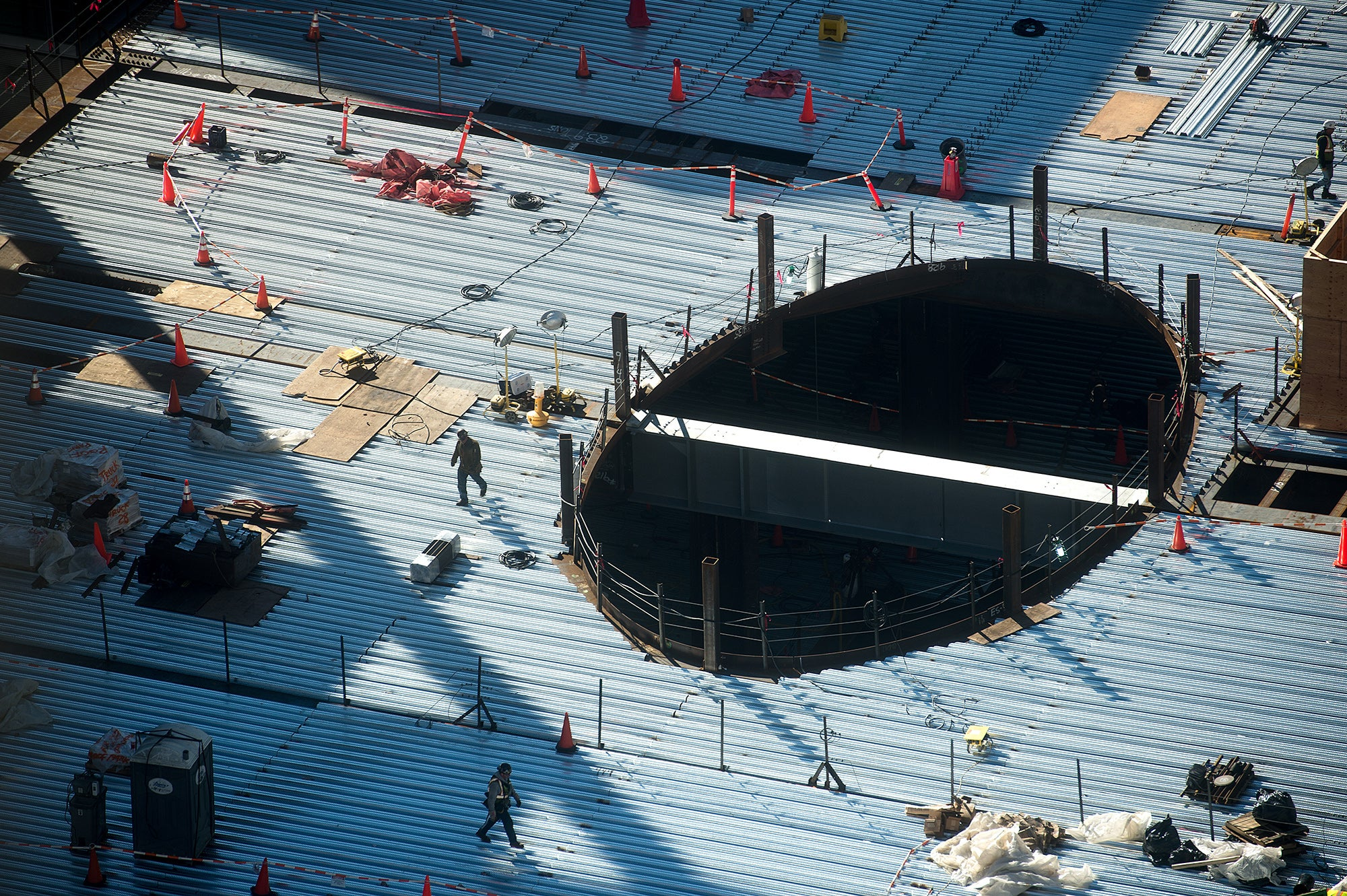 Transbay Terminal Construction
