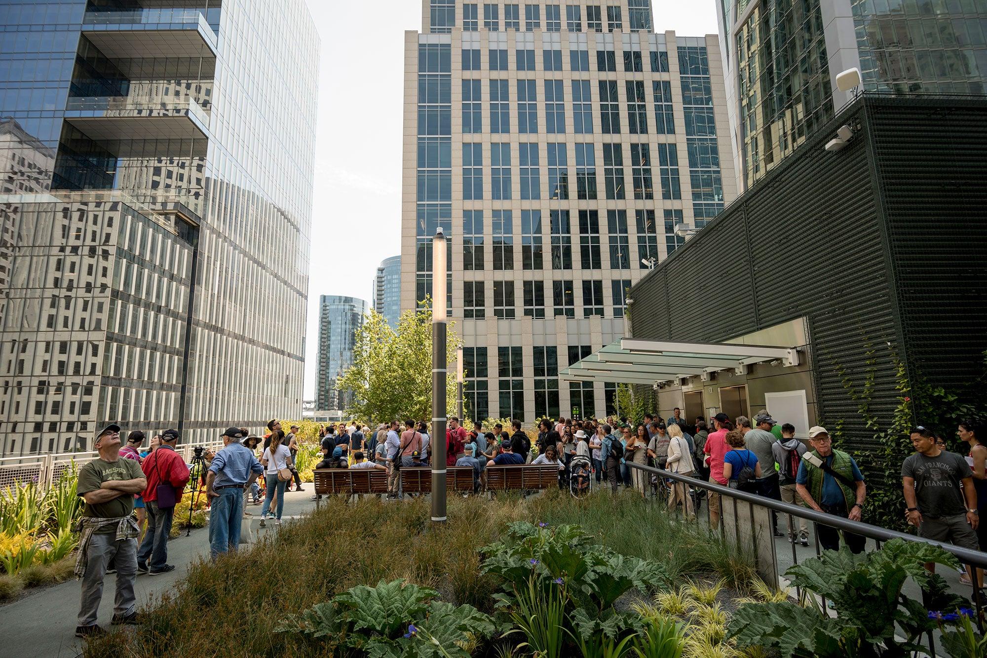 Salesforce Transit Center Public Opening
