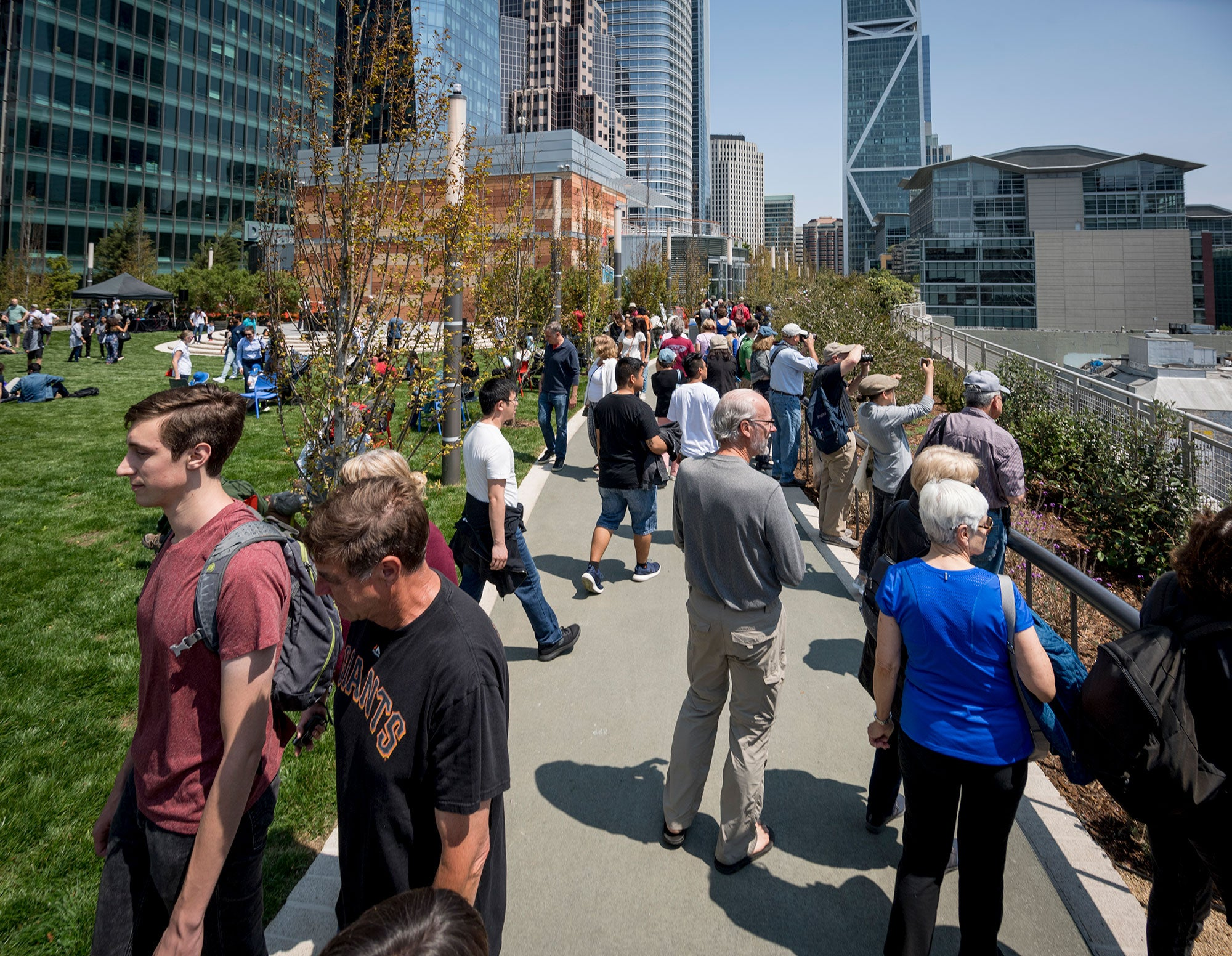 Salesforce Transit Center Public Opening