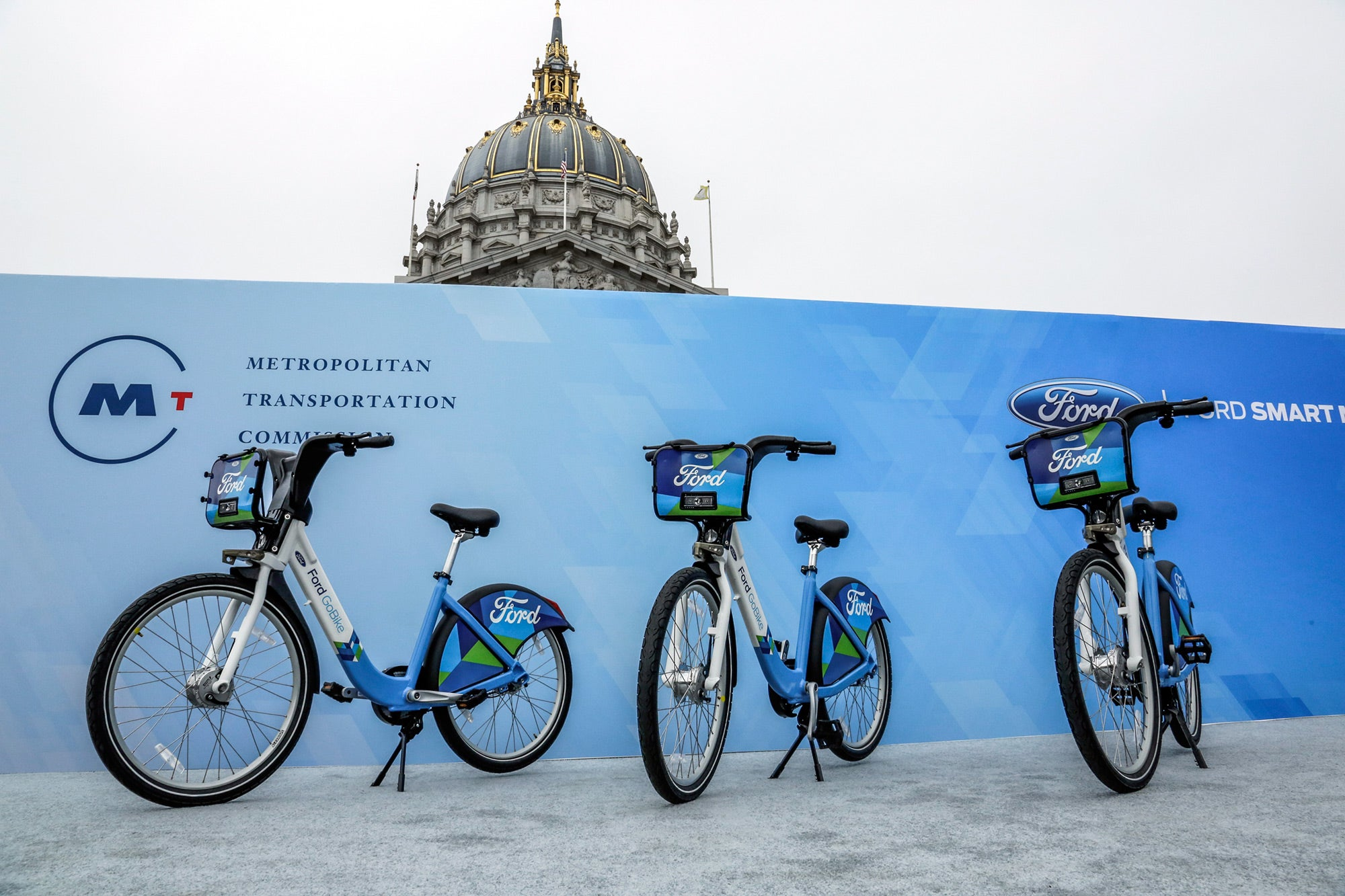 Ford GoBike bicycles