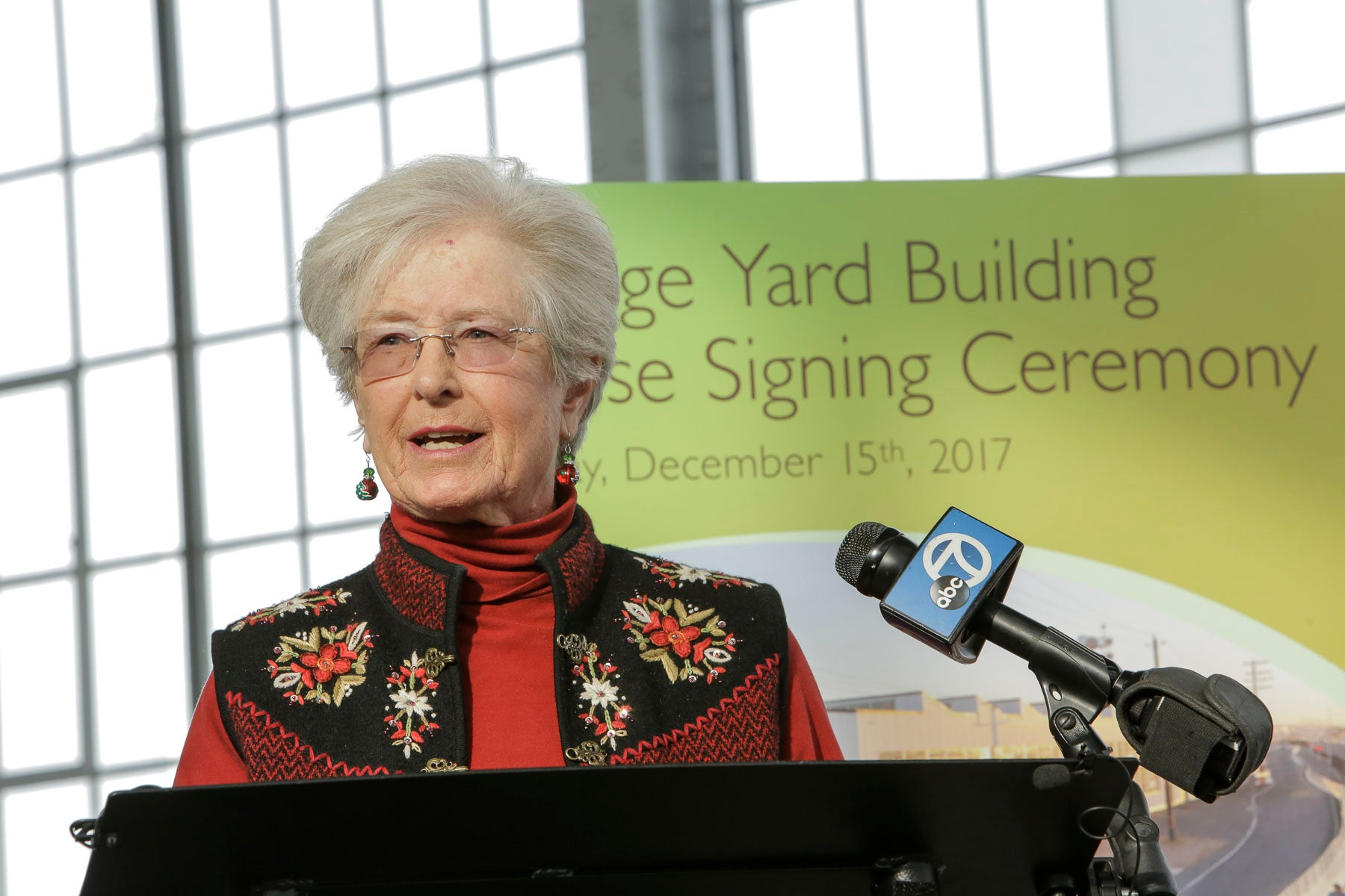 Bridge Yard Building Lease Signing Ceremony