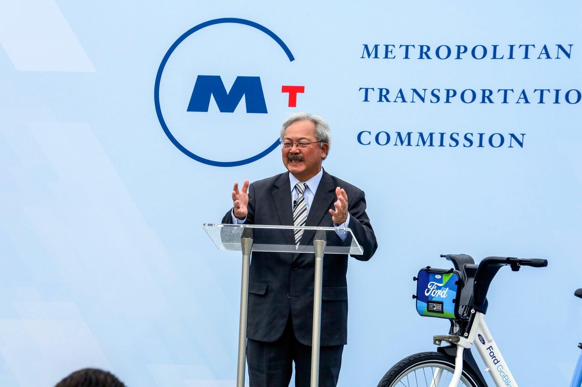 San Francisco Mayor Ed Lee