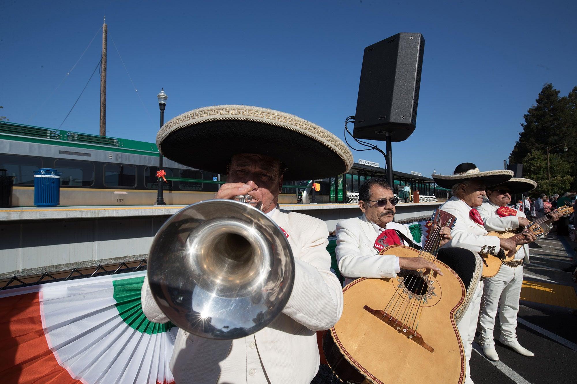 mariachi horn player
