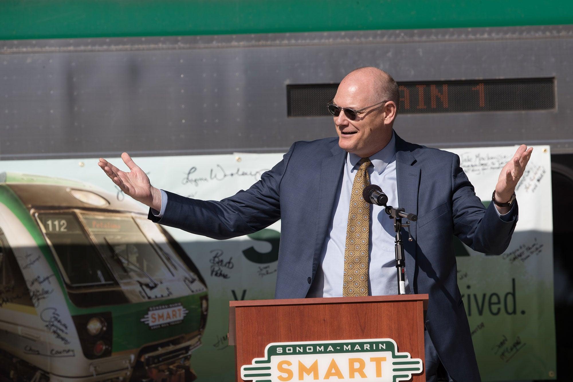 California Secretary of Transportation Brian Kelly